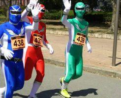 近畿レンジャー長居パークマラソンを走る